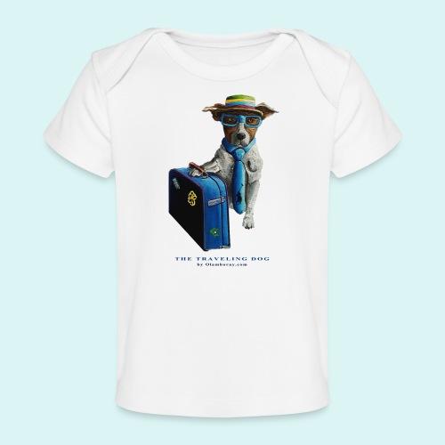 The Traveling Dog - Organic Baby T-Shirt