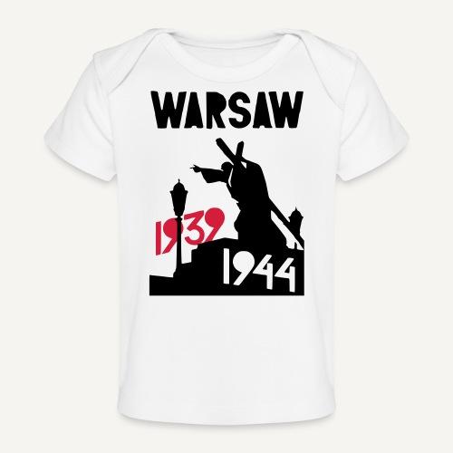 Warsaw 1939-1944 - Ekologiczna koszulka dla niemowląt