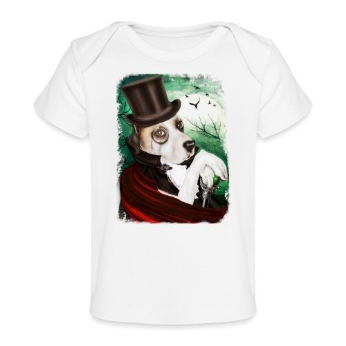 Gothic Dog #3 - Maglietta ecologica per neonato