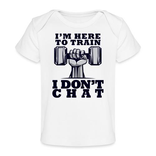 Train Chat - Vauvojen luomu-t-paita