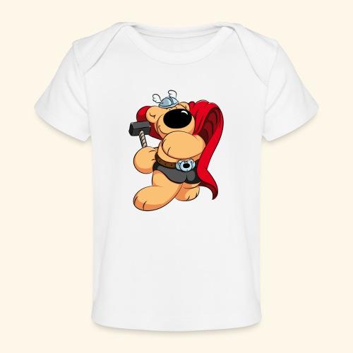 Der mächtige Thorbär - Baby Bio-T-Shirt