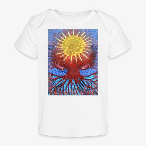 Niebiańskie Drzewo - Ekologiczna koszulka dla niemowląt