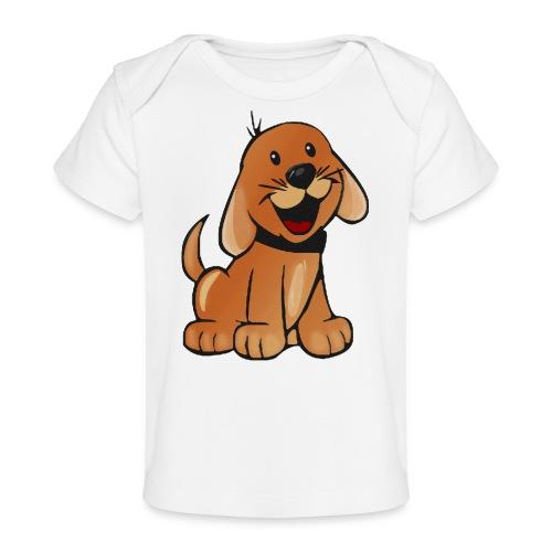 cartoon dog - Maglietta ecologica per neonato