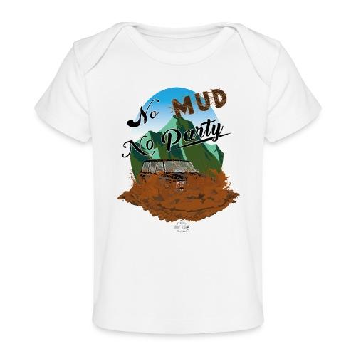 No Mud No Party - Patrol - Camiseta orgánica para bebé