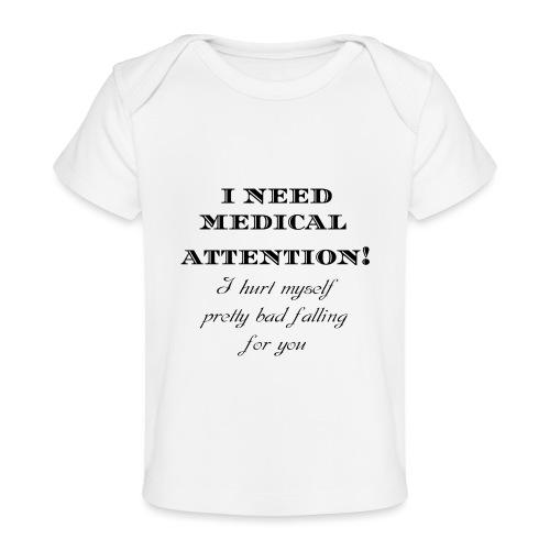 Attention - Vauvojen luomu-t-paita