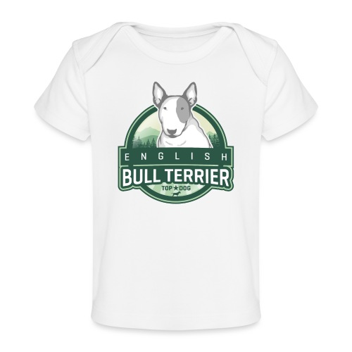 English Bull Terrier FOREST - Baby Bio-T-Shirt