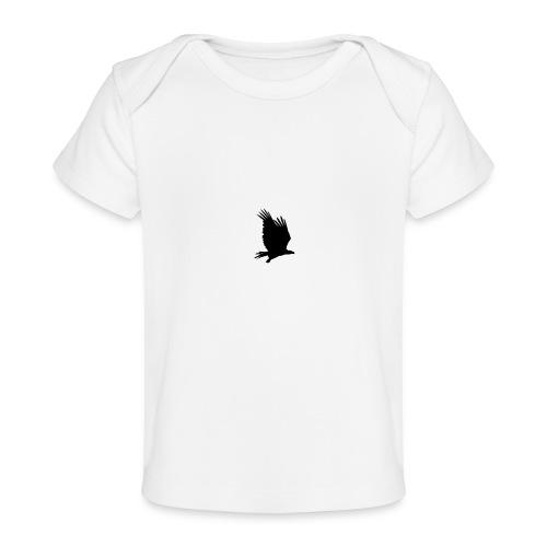 Tirolerbergluft pur (kleiner Adler) - Baby Bio-T-Shirt