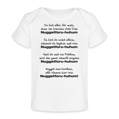 Du bist alles für mich - Baby Bio-T-Shirt