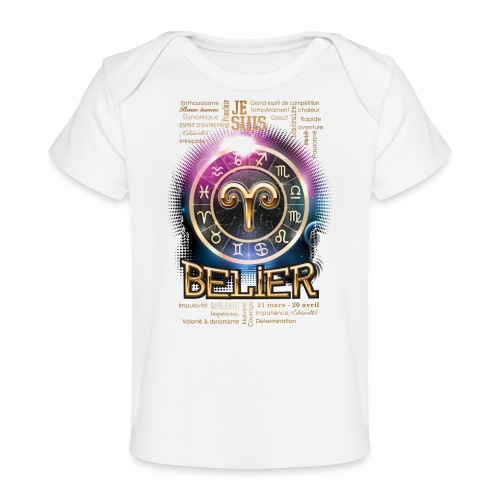 BELIER - T-shirt bio Bébé