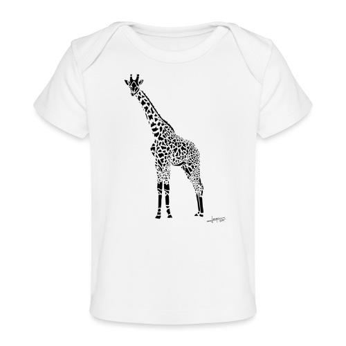 Black Girafe By Joaquín - T-shirt bio Bébé