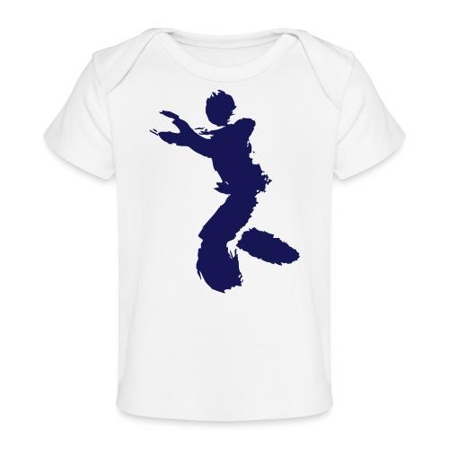 Wing Chun / Kung Fu Tusche Figur VEKTOR - Organic Baby T-Shirt