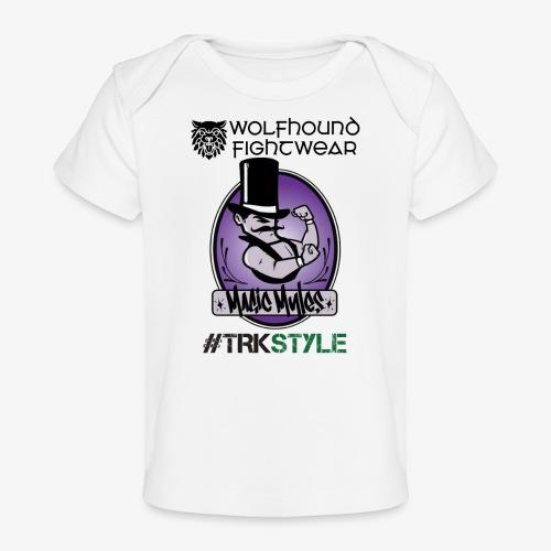 myles front 0518 - Organic Baby T-Shirt