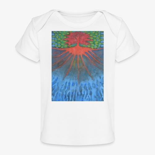 Drzewo Źycia - Ekologiczna koszulka dla niemowląt