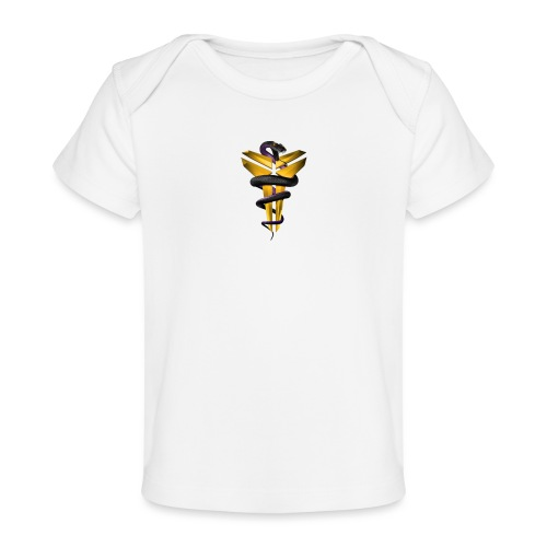 Snake BlackMamba - Ekologisk T-shirt baby