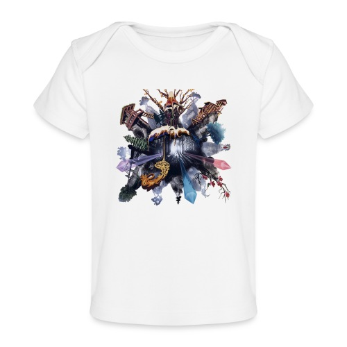 by Jonas Pihl - Økologisk T-shirt til baby