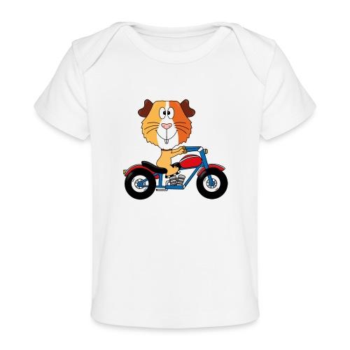 MEERSCHWEINCHEN - MOTORRAD - BIKER - MOTORSPORT - Baby Bio-T-Shirt