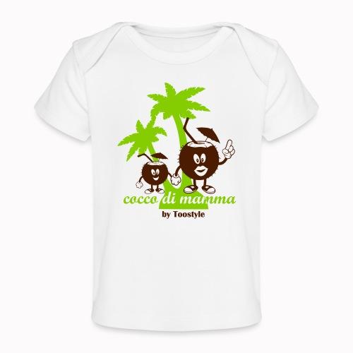 cocco di mamma tra le palme - Maglietta ecologica per neonato