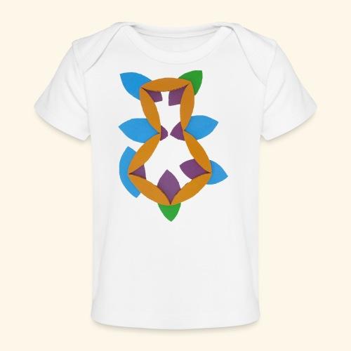 oranjeblanjebleu - Baby bio-T-shirt