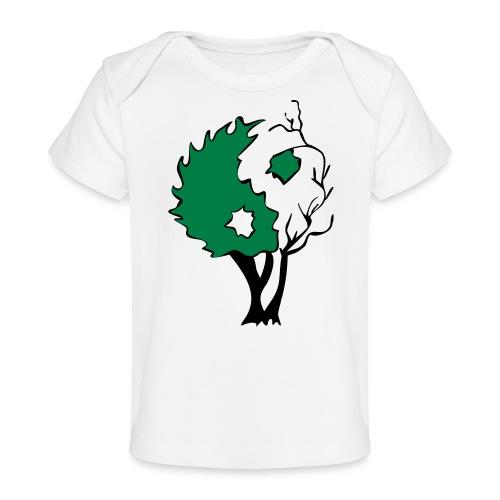 Yin Yang Arbre - T-shirt bio Bébé