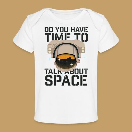 Time for Space - Ekologiczna koszulka dla niemowląt