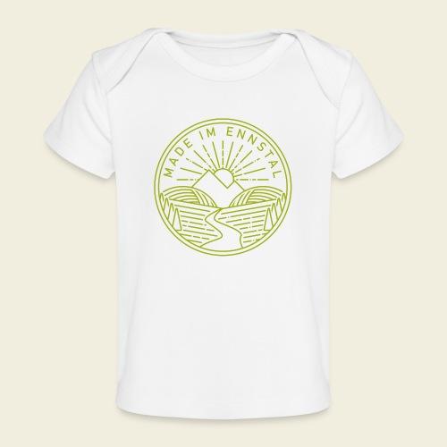 Made im Ennstal, grün - Baby Bio-T-Shirt
