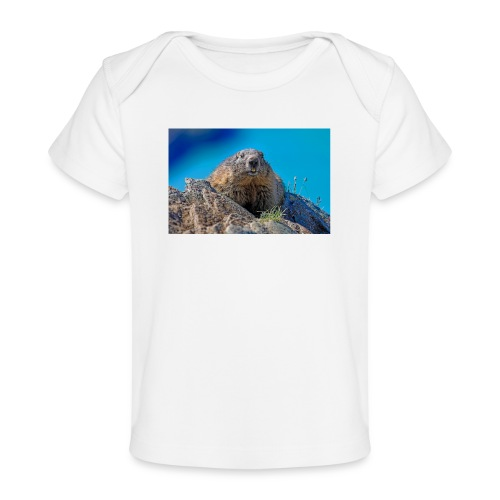 Murmeltier - Baby Bio-T-Shirt