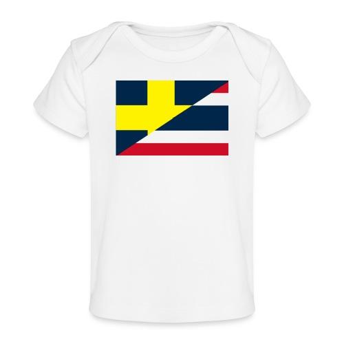 thailands flagga dddd png - Ekologisk T-shirt baby