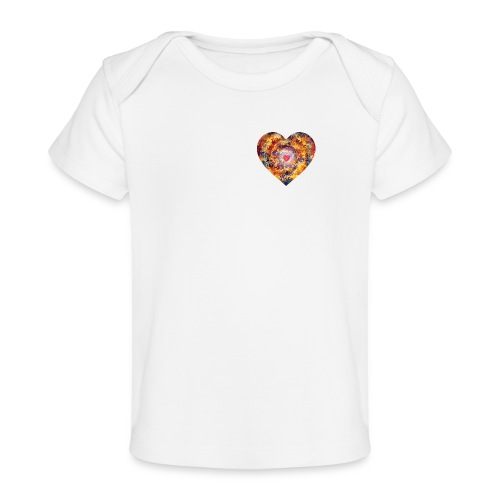 A small big heart of love - Organic Baby T-Shirt