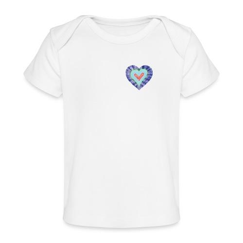 HeartSpread 18Little red heart in a green garden - Organic Baby T-Shirt