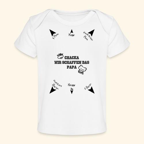Du schaffst das Papa - Baby Bio-T-Shirt