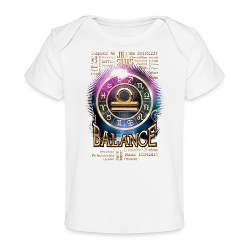 BALANCE - T-shirt bio Bébé