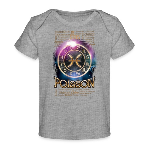 POISSONS - T-shirt bio Bébé