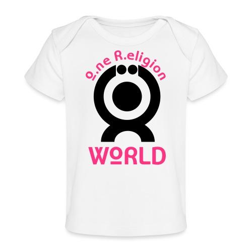 O.ne R.eligion World - T-shirt bio Bébé