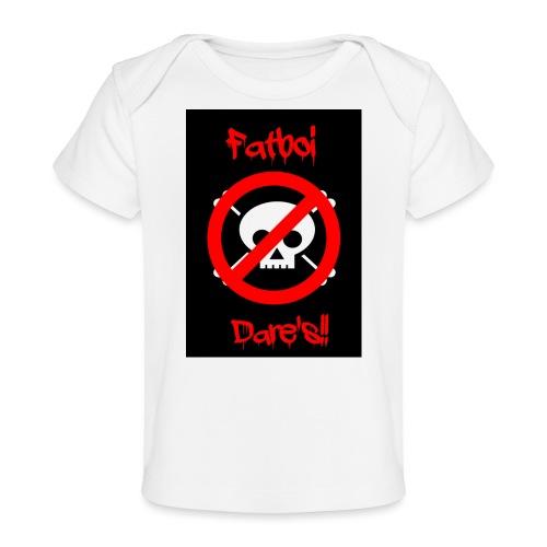 Fatboi Dares's logo - Organic Baby T-Shirt
