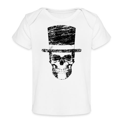Gentleman Skull Geschenkidee für jeden Skull Fan - Baby Bio-T-Shirt