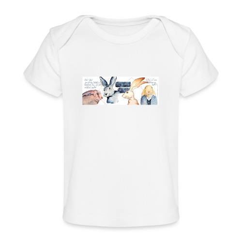 Osterhasen-Party - Baby Bio-T-Shirt