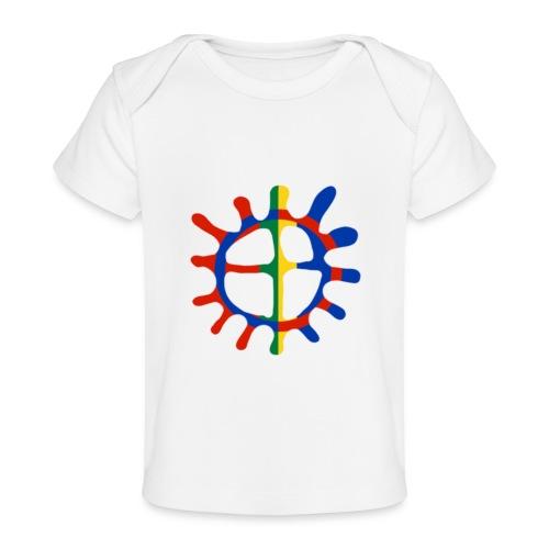 Samisk sol - Økologisk baby-T-skjorte