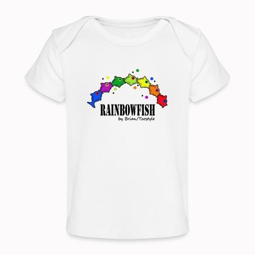 rainbowfish - Maglietta ecologica per neonato