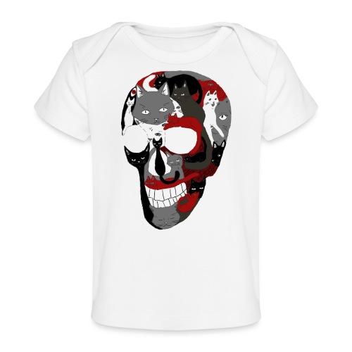 Crâne of the cat - T-shirt bio Bébé