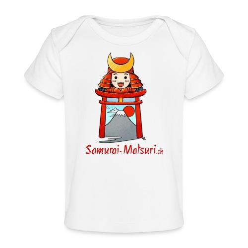 Samurai Matsuri Torii - Baby Bio-T-Shirt