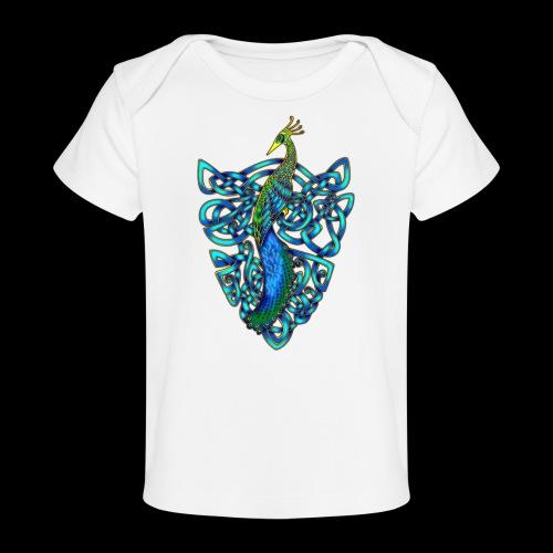 Peacock - Organic Baby T-Shirt