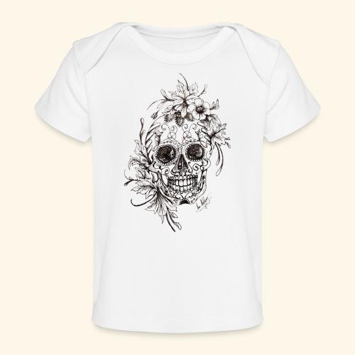 SkullDrawings - Ekologisk T-shirt baby