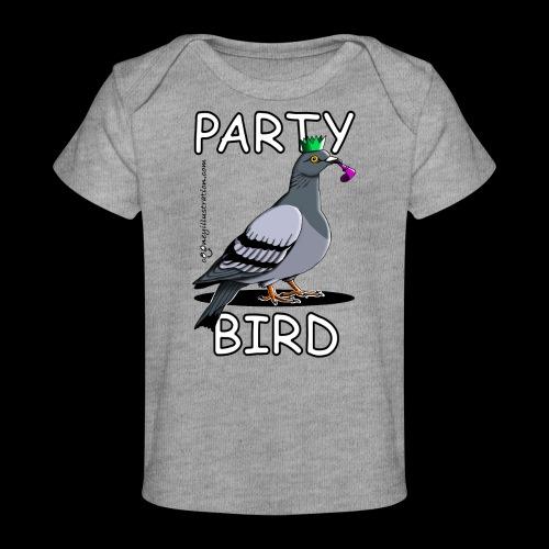 Party Bird - Organic Baby T-Shirt