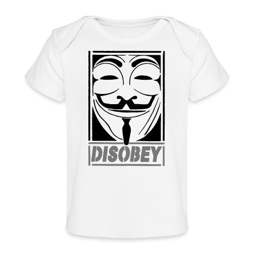 disobey - Økologisk T-shirt til baby