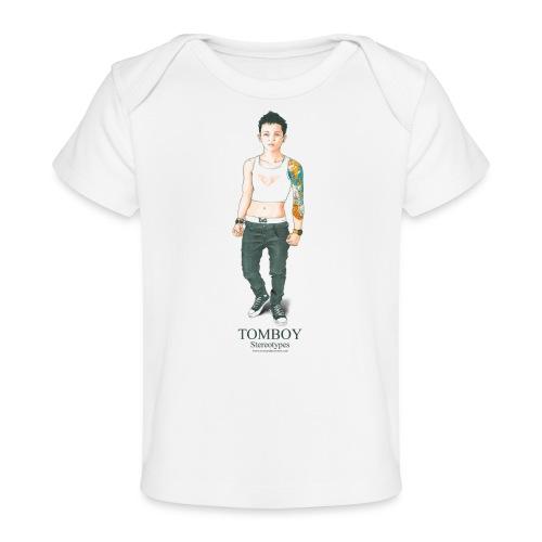 Tomboy. Stereotypes Collection. - Camiseta orgánica para bebé