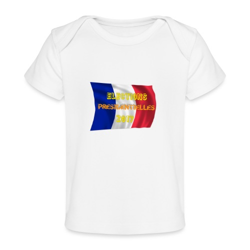 ELECTIONS 2017 - T-shirt bio Bébé
