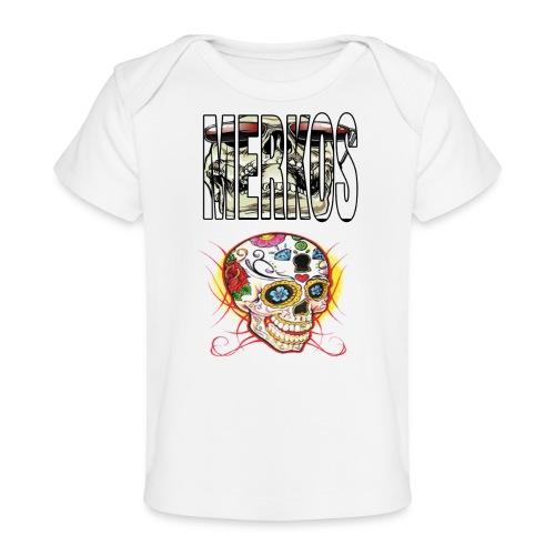 MERKOS CALAVERAS - Camiseta orgánica para bebé