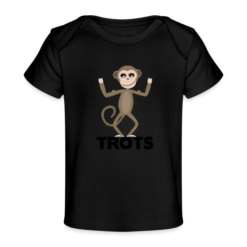 apetrots aapje wat trots is - Baby bio-T-shirt