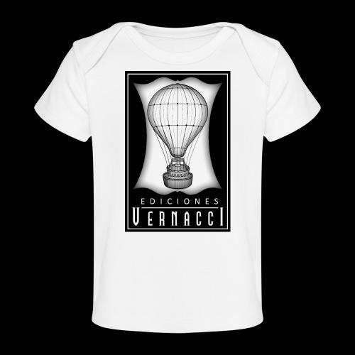 logotipo de ediciones Vernacci - Camiseta orgánica para bebé
