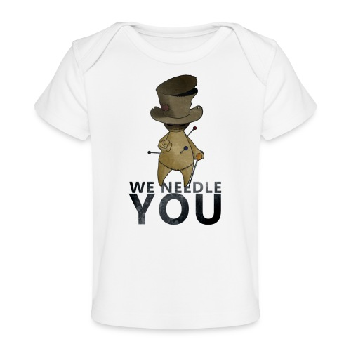 WE NEEDLE YOU - T-shirt bio Bébé